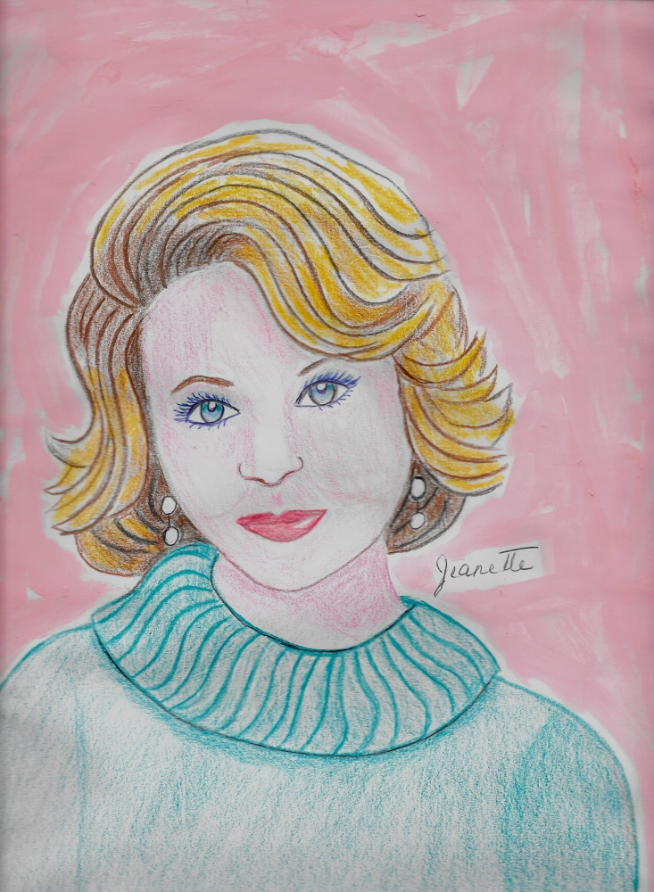 Barbara Walters by Jeanette